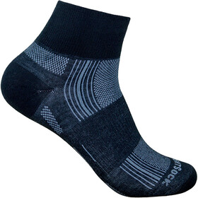 Wrightsock Stride Quarter Socks black